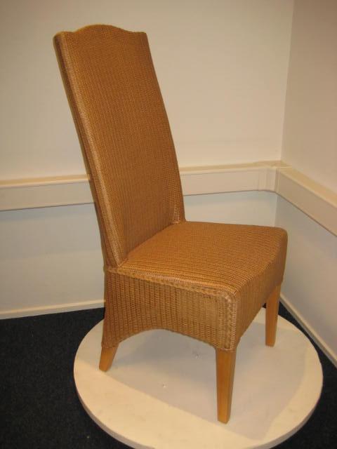 Lloyd loom stoel zonder armleuning exclusief en original for Loom stoelen